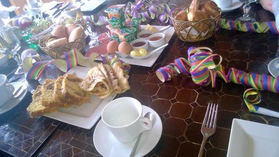 Palais Jena & Spa : Breakfast was plenty and was a nice alternative to fry ups