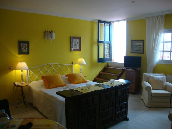 Villa Rosalva : Studio mit Dachterrasse