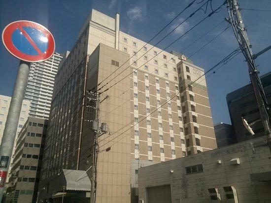 HOTEL MYSTAYS Sapporo Aspen: ホテル外観