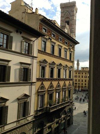 Vista da Palazzo Ruspoli