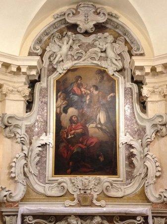Chiesa di S.Vincenzo: Altare barocco