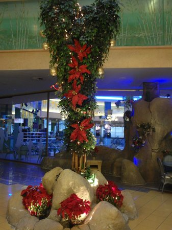 Hotel Kaktus Albir: Xmas decorations in the hotel