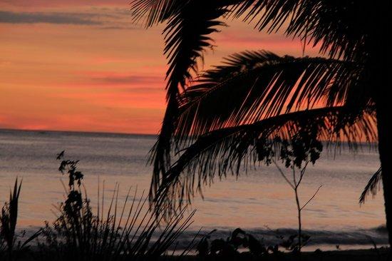 Hotel Las Brisas del Pacifico: VU DEPUIS L'HOTEL
