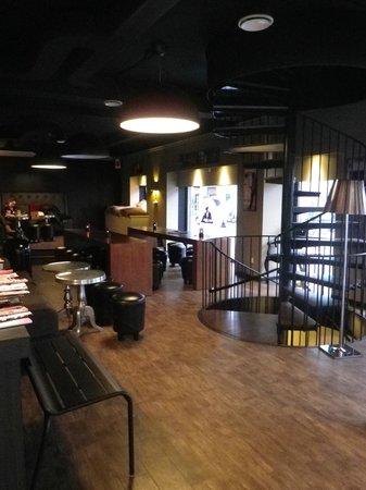 Hotel Nora CopenHagen : cafeteria al lado hotel