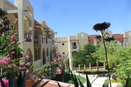 Marina Plaza Hotel by Swiss-Belhotel: view from our balcony
