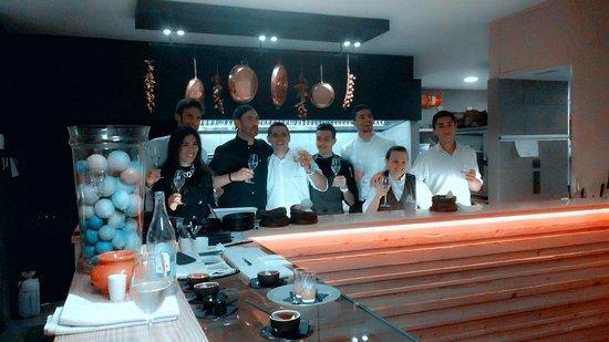 Restaurante Cafe Mencey: De volledige brigade
