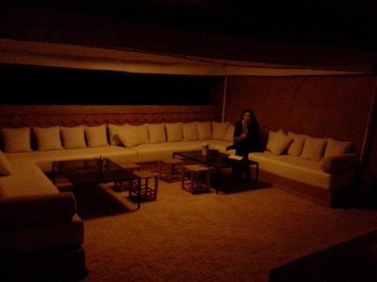 Riad Bouchedor : sala da pranzo