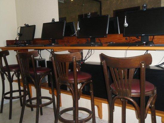 Mira Mare Hotel: internet-cafe