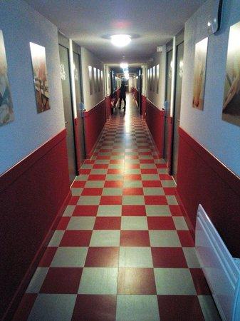 Best Western Bordeaux Aeroport : Le couloir
