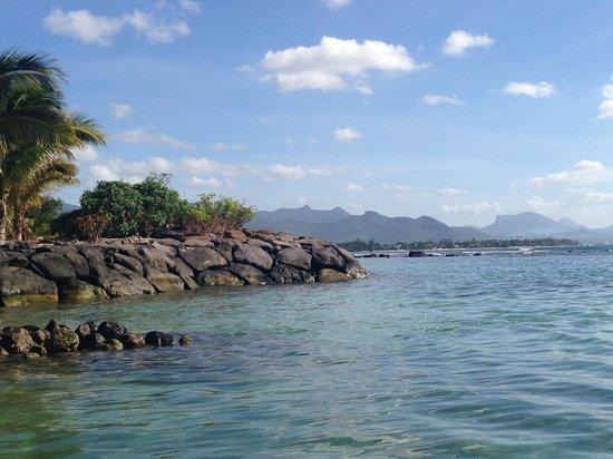 InterContinental Mauritius Resort Balaclava Fort: plage de l'hotel