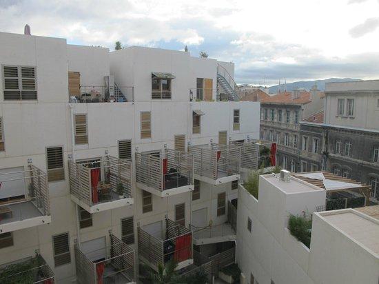 Residhome Appart Hotel Saint-Charles : Вид из номера с 6 этажа