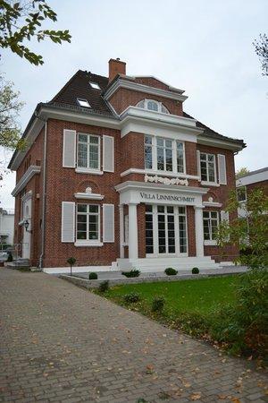Villa Linnenschmidt : Frontansicht