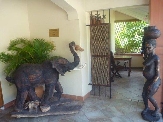 Elephant Coast Guest House: Empfang/Vorraum