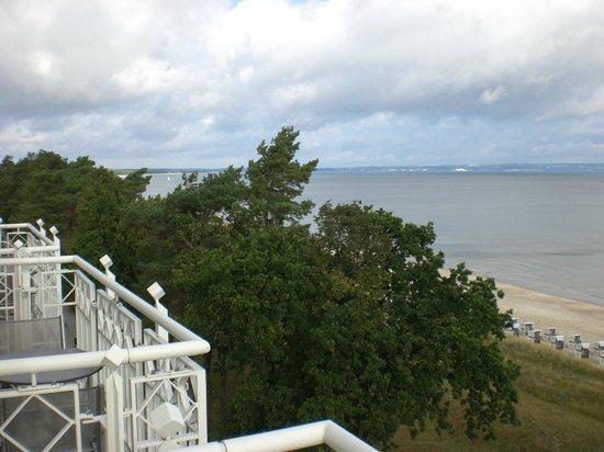 Hotel Am Meer: Schöner Ausblick vom Balkon