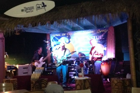 Eric Stone Band at the Dockside Tropical Cafe