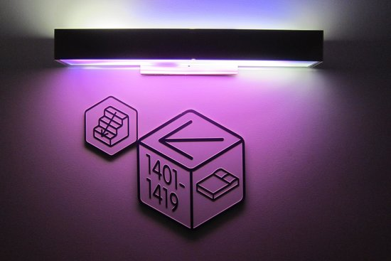 YOTEL New York at Times Square West: Way finding