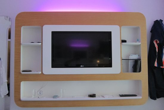 YOTEL New York at Times Square West: Changing light