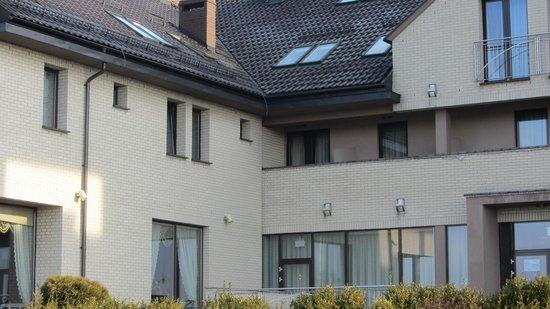 Hotel Fajkier : narożny pokój,widok balkonu