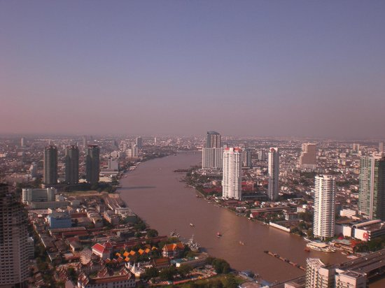 lebua at State Tower: Ausblick