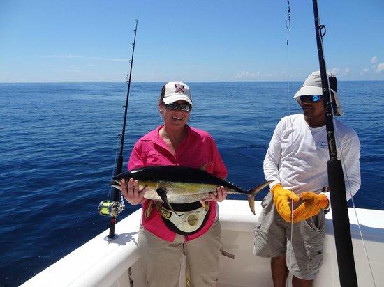 Дрейк-Бэй, Коста-Рика: Big Eye Tuna