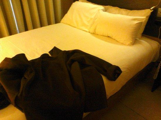 Hilton Edinburgh Grosvenor: double bed was quite small