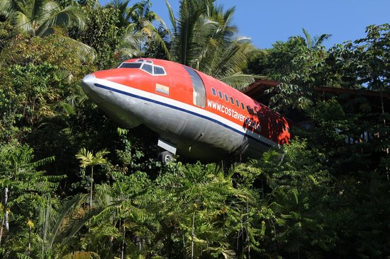 Hotel Costa Verde: AVION DANS LE DECOR