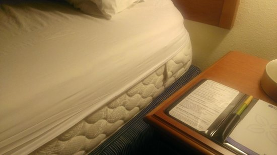 Hilton Garden Inn Gainesville: Fitted sheets to small for bed.