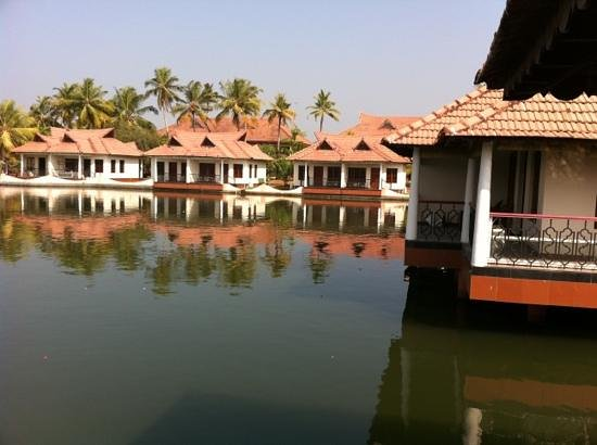 Lake Palace Resort: view from our cottage