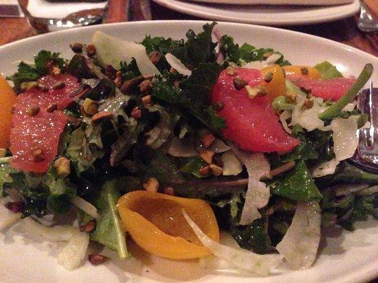 Bluestem Brasserie: Winter citrus and kale salad