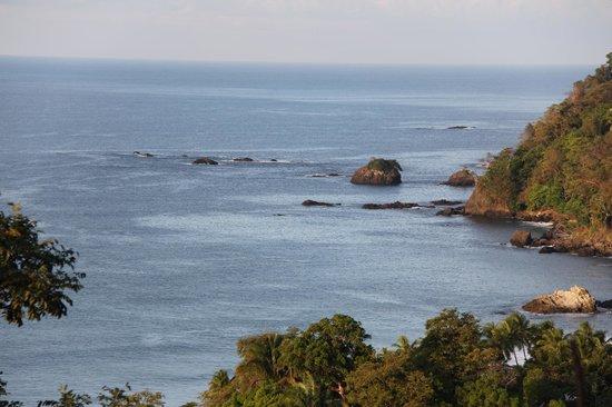 Hotel Costa Verde: VU DEPUIS LA CHAMBRE PREMIERE NUIT