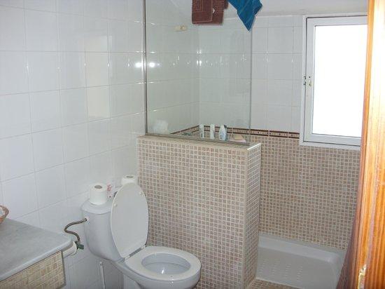Playa Park Club: shower area