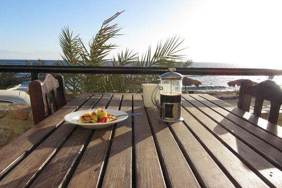 The Bedouin Moon Hotel : Breakfast terrace