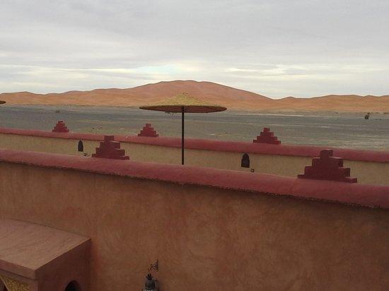 Riad Madu: il terrazzo