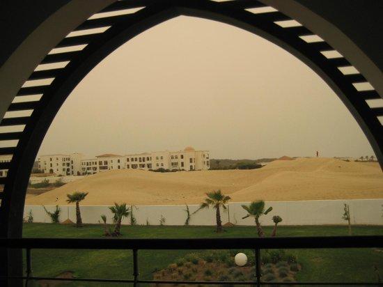 Sofitel Agadir Thalassa Sea & Spa: vue de notre chambre