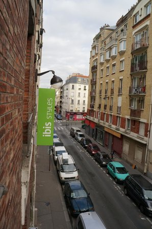 Ibis Styles Paris Montmartre Nord : panorama dalla camera