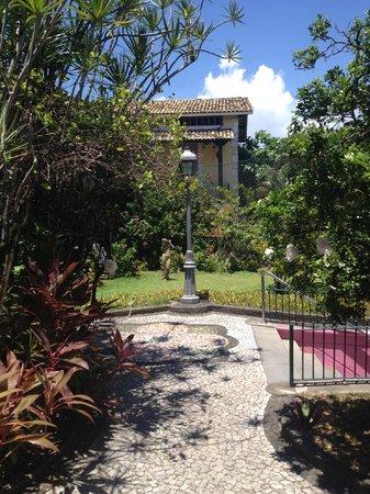 Hotel Catharina Paraguacu: entrada do hotel Catharina Paraguaçu - Salvador