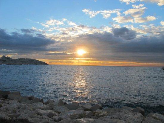 Frioul Archipelago : Закат на Фриоле