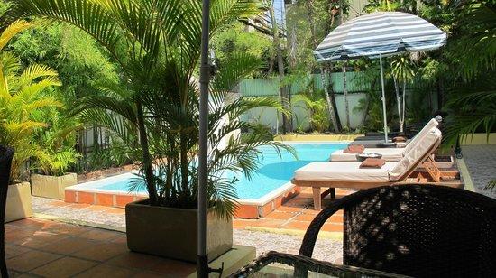 Villa Srey : La piscine