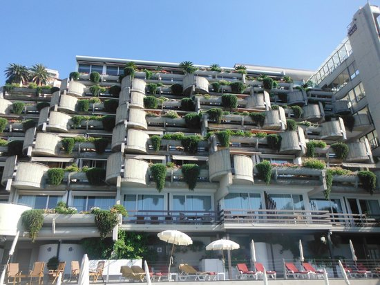 Monte Tauro Hotel: Balconies