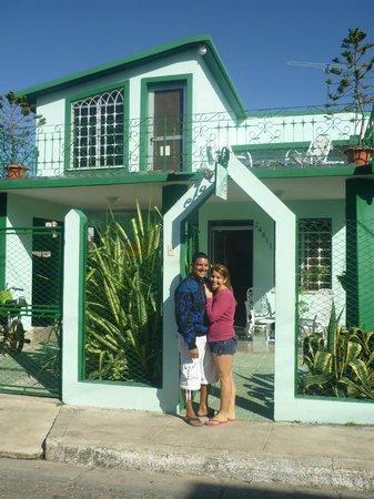 Casa Hostal Idael & Dania: Idael und Dania
