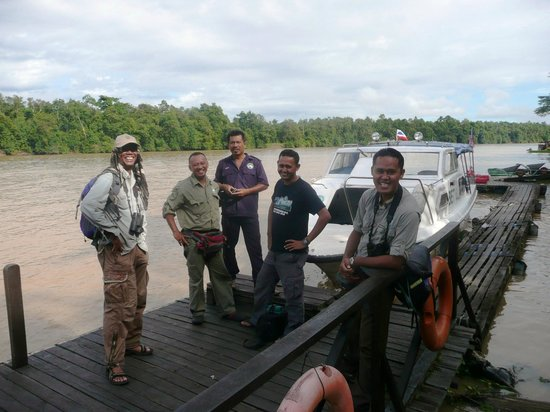 Sukau Rainforest Lodge: Great guides and boatmen.