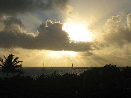 Residence de la Plage: sunrise from balcony