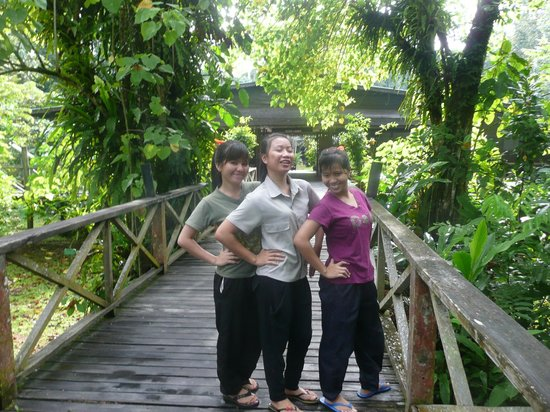 Sukau Rainforest Lodge: Friendly hotel staff