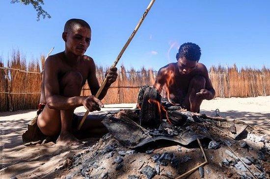 Kgalagadi Transfrontier Park, South Africa: San Bushman Cultural Visit