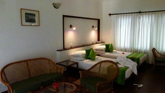 Marari Beach Resort: Les lits très confortables