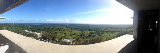 Casa Cascadas: view.