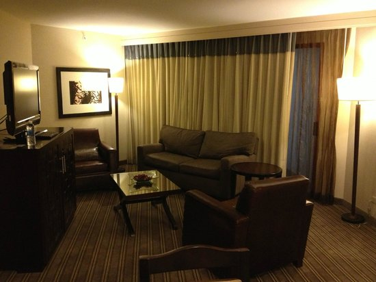 Hyatt Regency San Antonio: Jr Suite - Living Room Area