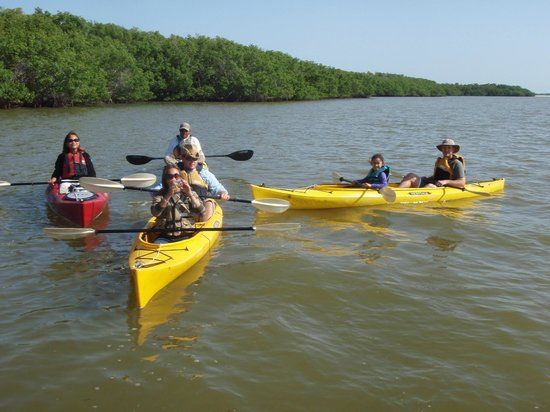Marco Island Boat Tours: Boat Assisted Kayak Eco Tour