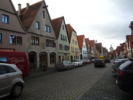 Altstadt: Streets of Rothenburg