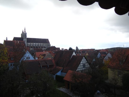 Altstadt: View from on top of the outer wall